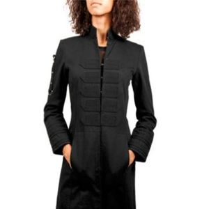 Black Sanctuary Long Trench Coat